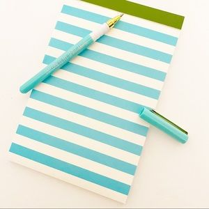 Kate Spade - Striped Notepad Set of 3